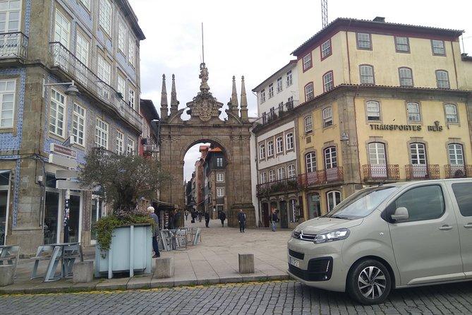 Private transfer Braga - Guimarães