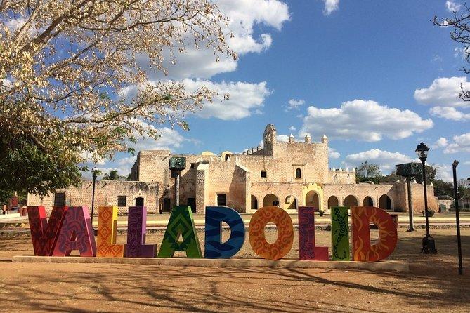 Explore the AMAZING EK BALAM RUINS, Las Coloradas, Valladolid and Cenote Hubiku