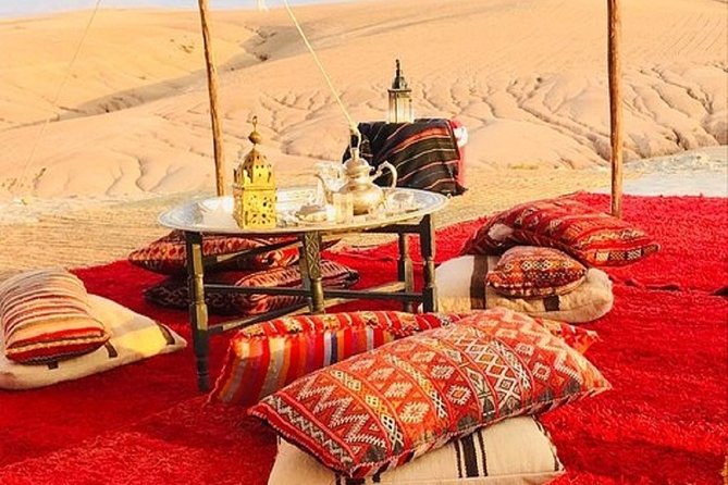 Luxury Private Day Tour Of Desert Agafay & Atlas Mountains With Camel Ride