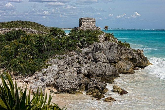 4x1 Tour - Tulum, Playa del Carmen, Cenote & Coba