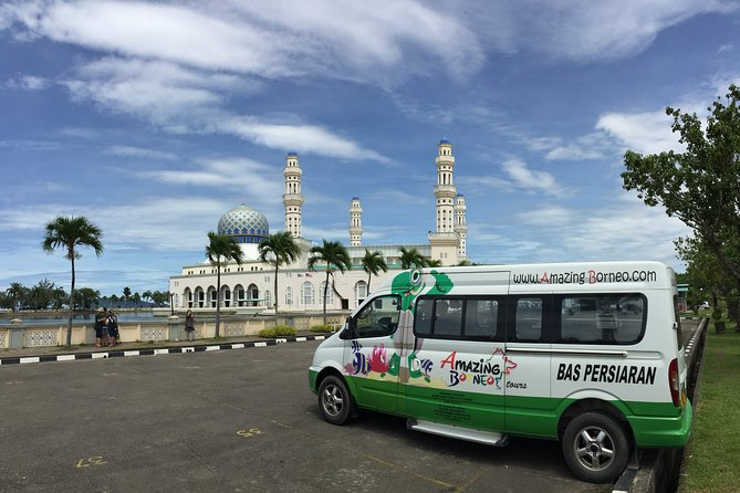 Floating Mosque & Our Comfortable Vehicle