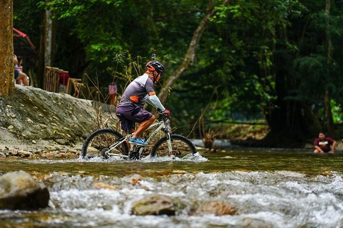 Full-Day Bike Tour to Klong Maduea Waterfall from Bangkok