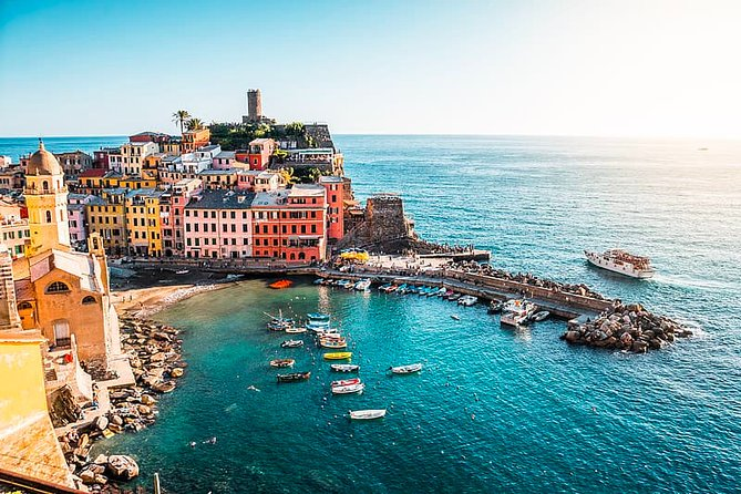Private Full Day Tour of Cinque Terre from Florence with Hotel pick up