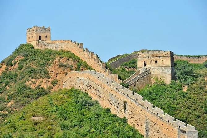 Great Wall of China at Badaling and Ming Tombs Private Day Tour from Beijing