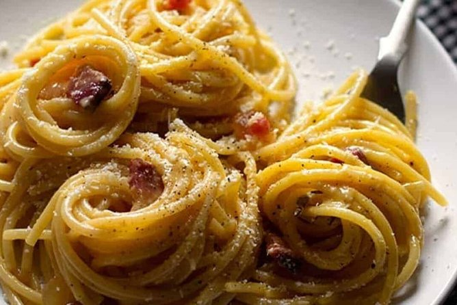 1 Hour Online Live Carbonara Cooking Class With Italian Chef
