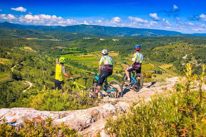 E bike tour around Lagrasse