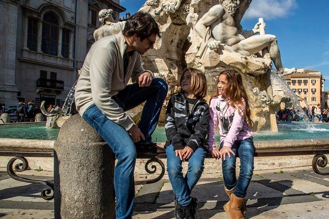 Kindvriendelijke rondleiding door Rome Must-see sites met gelato-proeverij