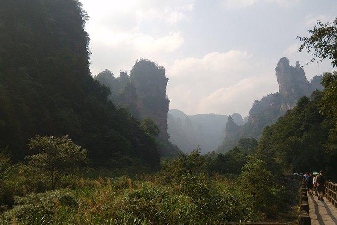 Full-Day Zhangjiajie National Park Private Hiking Tour Hotel in Yangjiajie