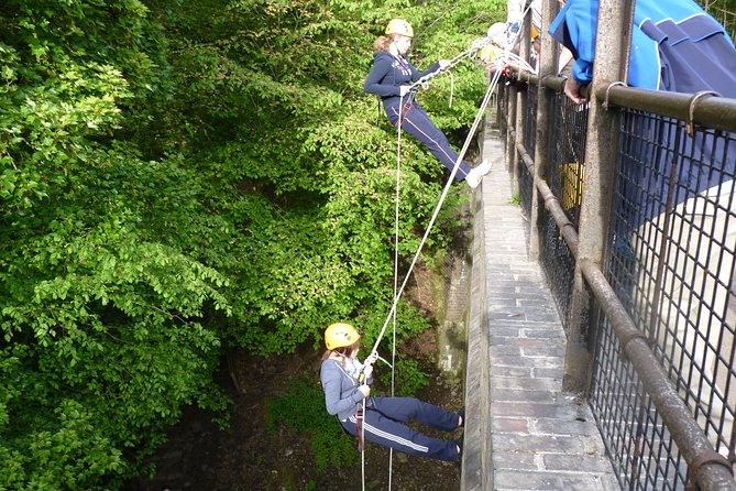 Abseil Experience - Millersdale Derbyshire Peak District