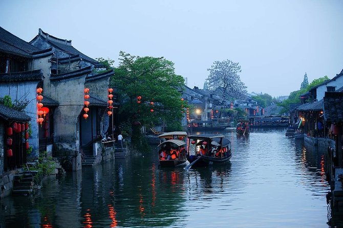 Xitang Water Town Private Tour from Shanghai with Paper Cutting Experience