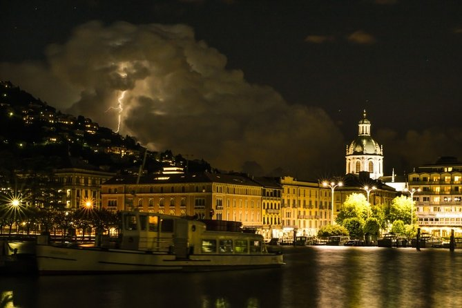 Lake Como, private guided tour by night