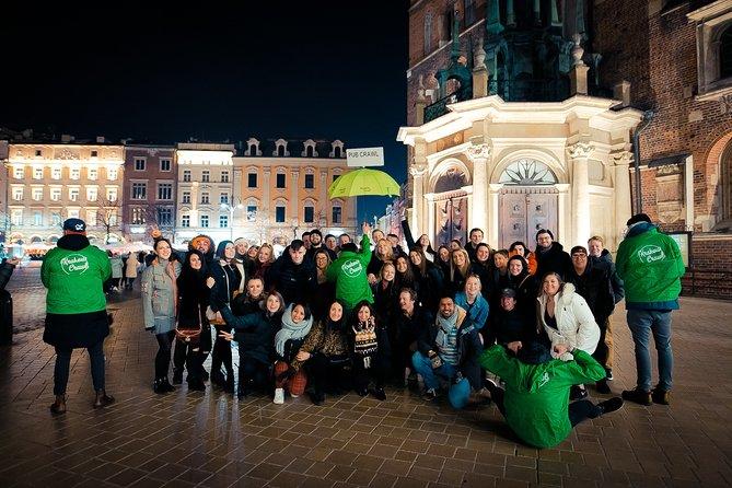 Krakow Club and Bar Crawl with Free Drinks