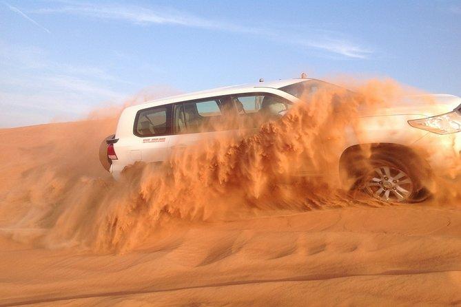 Evening Red Dunes Desert Safari With BBQ Dinner