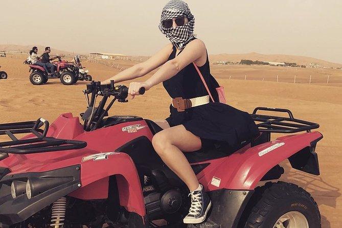 Red Dunes Desert Safari With Quad Bike