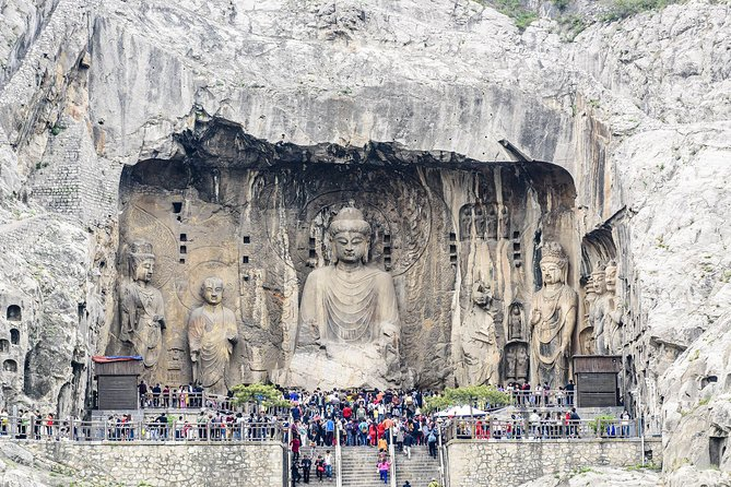 Luoyang Excursion by High-Speed Train with Longmen Grottoes & White Horse Temple