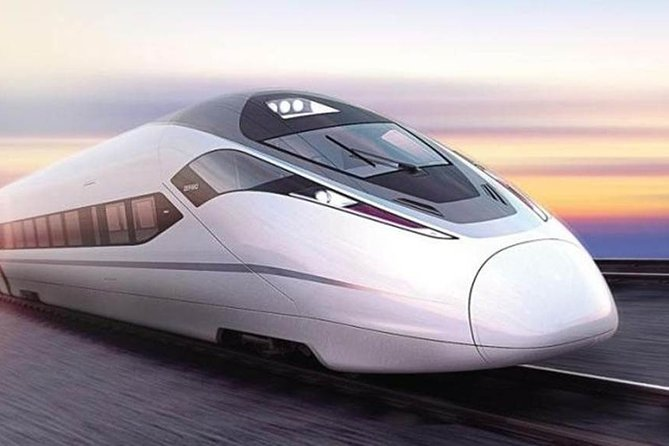 Shanghai to Xi'an Bullet Train Ticket with Local Hotel Private Transfers