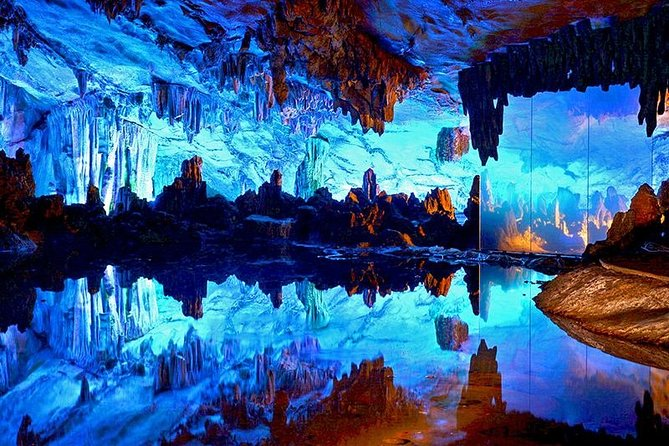 Pravite Guilin Day Tour:Fubo Hill,Reed Flute Cave,Elephant Hill,Seven Star Park