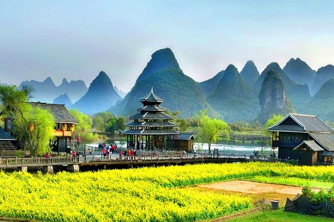 2 Days with private French-speaking guide to visit Guilin and Yangshuo without hotel