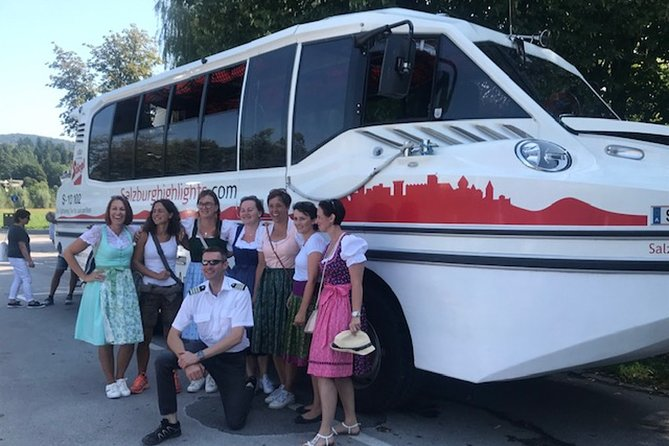 Amphibious Splash Tour on the Water and on the Land in Salzburg