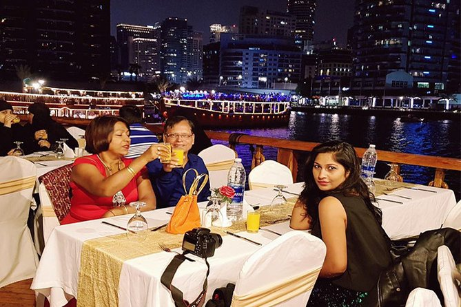 Dhow Dinner Cruise in Dubai Creek