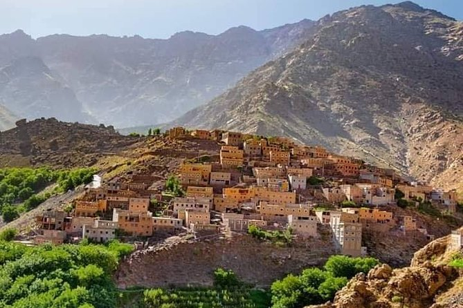 Atlas Mountains and Three Valleys & Waterfalls : Full-Day Tour from Marrakech