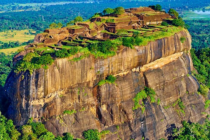 Seegriya Lion Rock and Dambulla Cave Temple Day Trip