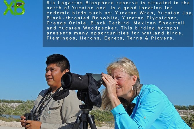 Birding Through Ría Lagartos Biosphere Reserve