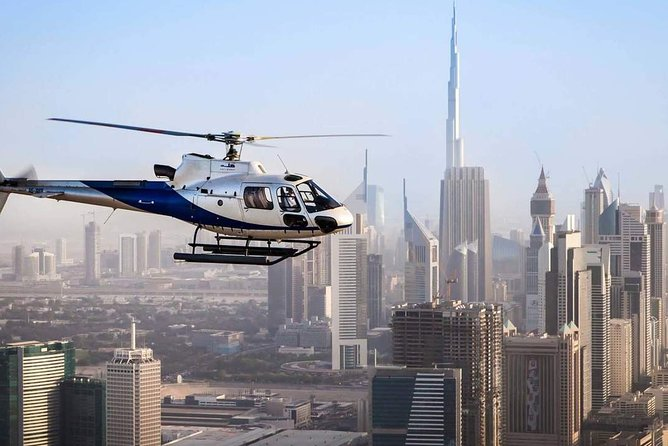 Private 12-Minutes Helicopter Dubai Iconic Tour
