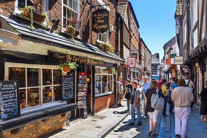 Visit the Shambles, the best shopping street in England.