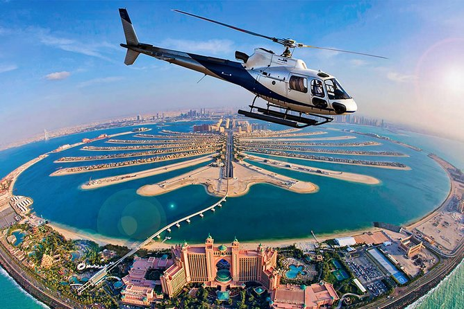 Private Helicopter Ride 40-Minutes Dubai Odyssey Tour