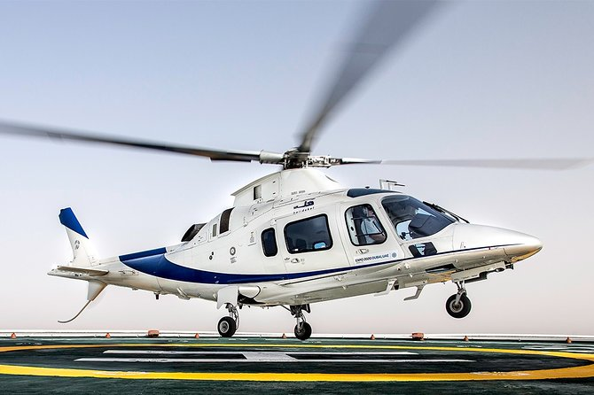 Private Helicopter Ride: Dubai Odyssey Tour (40 Minutes Flight)