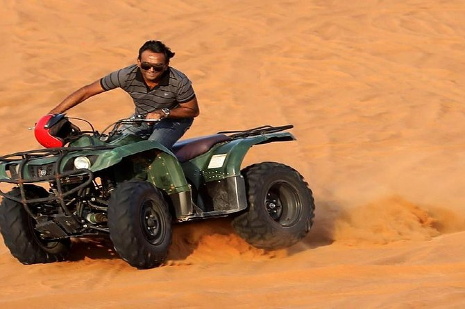 Morning Red Dunes Desert Safari With Quad Bike