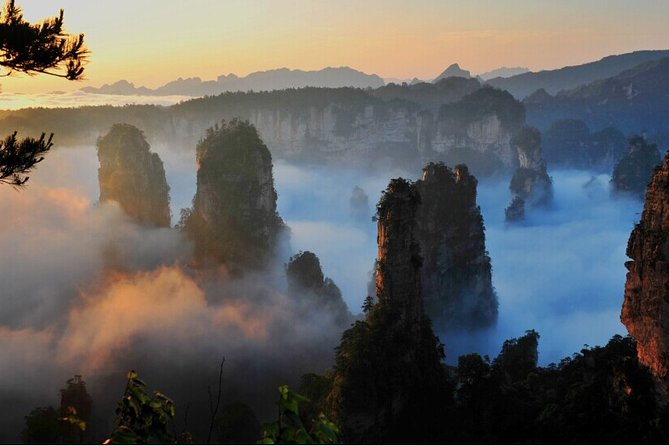 Full-Day Zhangjiajie National Park Private Tour with Lunch
