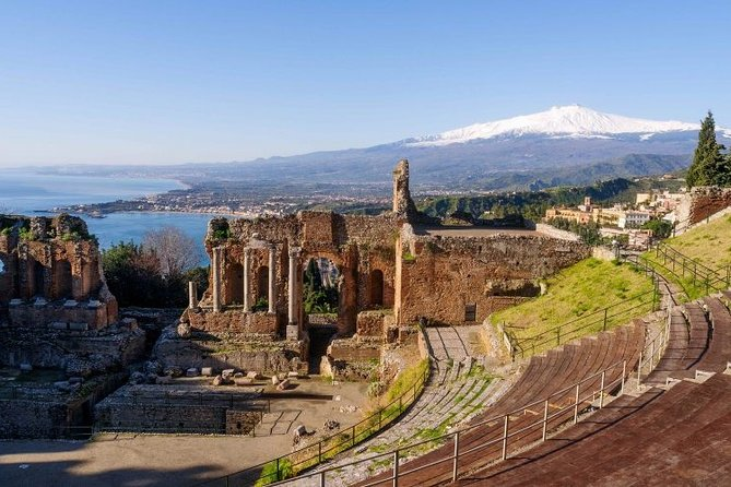 ETNA & TAORMINA TOUR - Full Day departure from CATANIA (with GUIDE and LUNCH included)