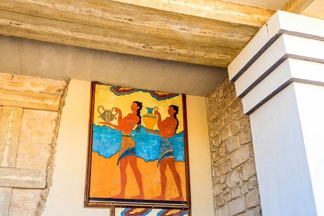 Knossos Palace & Heraklion Museum - VIP Small Group from East Crete Regions
