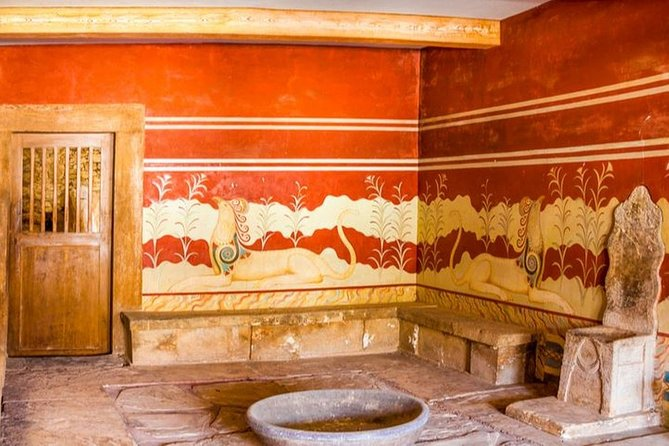 VIP Knossos Palace & Museum with Wine Tasting Full-Day Luxury Tour