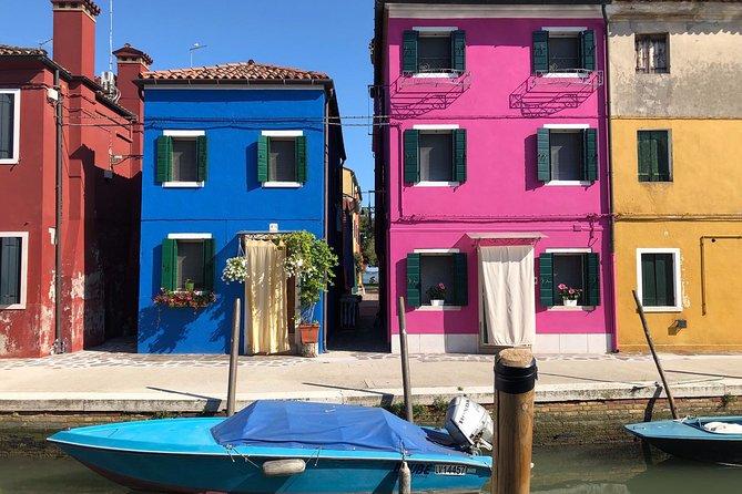 Luxury Murano & Burano Boat Tour