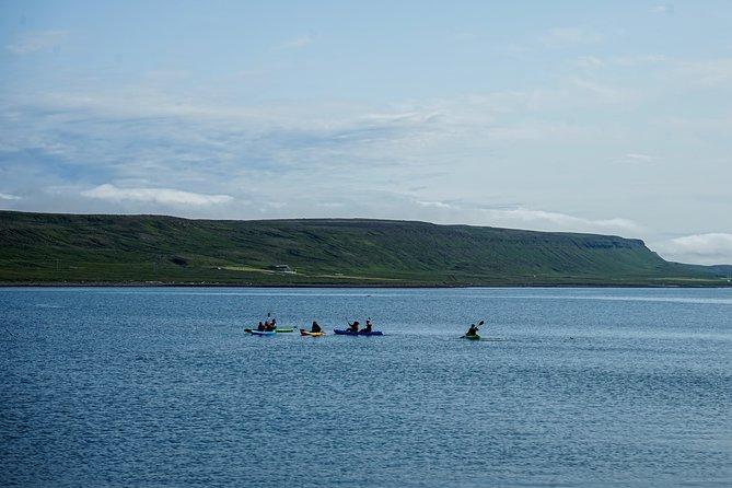 Midnight Sun Kayaking at the Edge of the Arctic