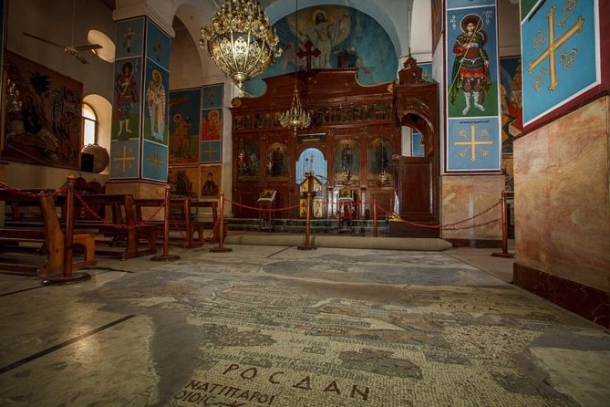 FROM AMMAN | Madaba, Mount Nebo & Dead Sea | Admission Fees & Lunch Included