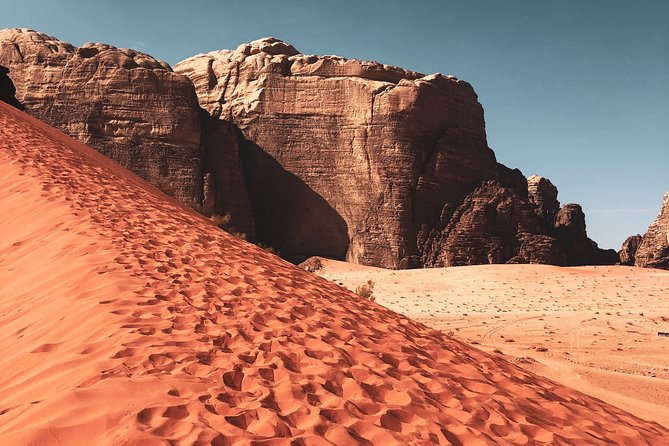 FROM PETRA | Full Day In Wadi Rum | Lunch Box & Admission fees included