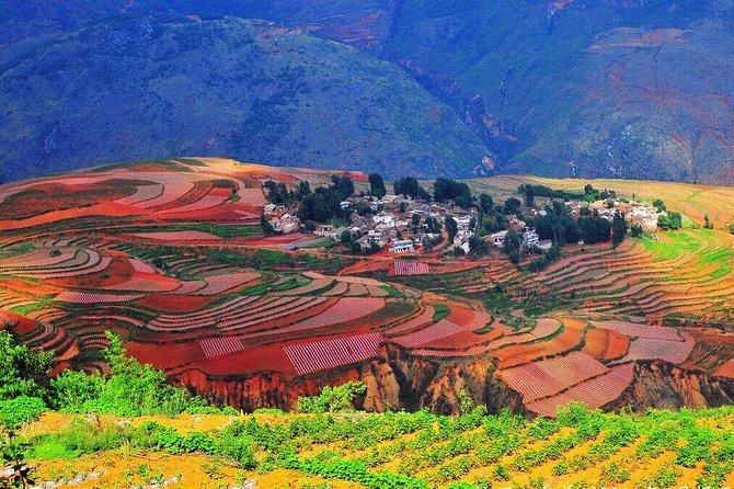 2-Day Private Tour to Jiaozi Snow Mountain and Dongchuan Red Land from Kunming