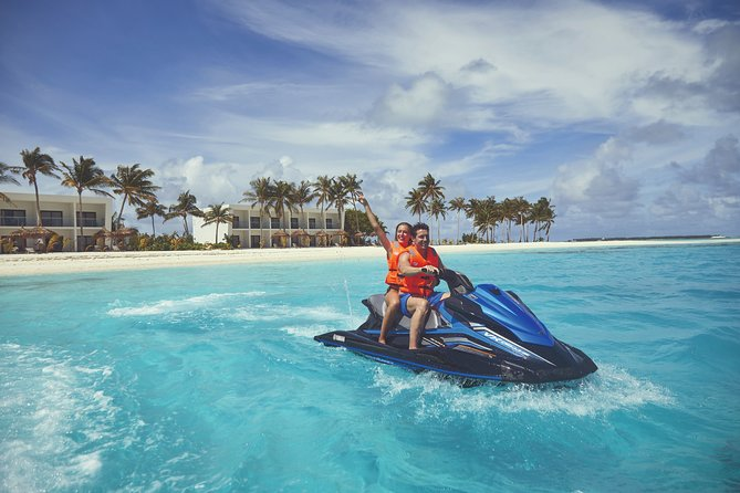 Maldives Private Guided Individual WaveRunner Tour