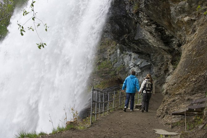 Steindalsfossen waterfall