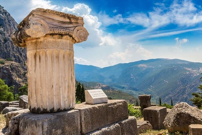 All day tour from Athens or from Chalkida Arachova -Delphi-Polydroso