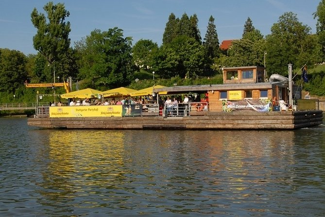 Boat trip to NeckarPark in Stuttgart
