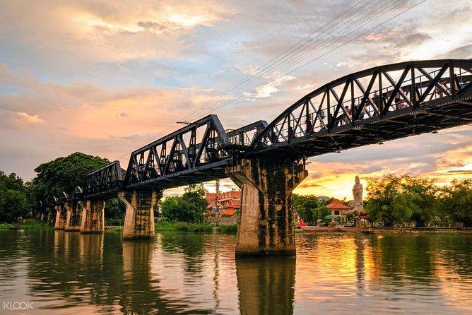 Bangkok: Bridge on the River Kwai and Thailand-Burma Railway Tour