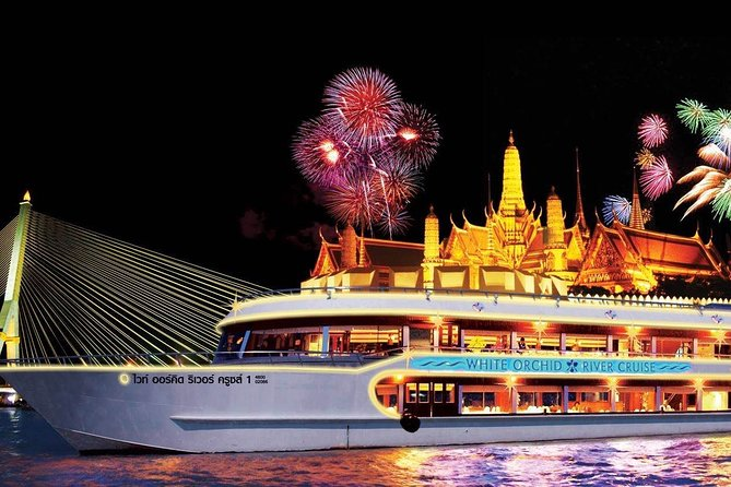 Bangkok: White Orchid Dinner Cruise with Optional Return Transfers
