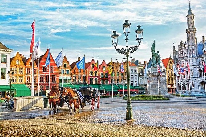 Full Day Private Trip: Brugge & Ghent with a Private Limo Driver