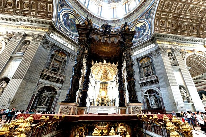 Self-guided Virtual Highlights Tour of St. Peter's Basilica