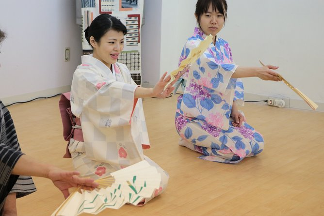 Online Japanese Traditional Dance Class at Home